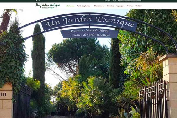 unjardinexotique.com